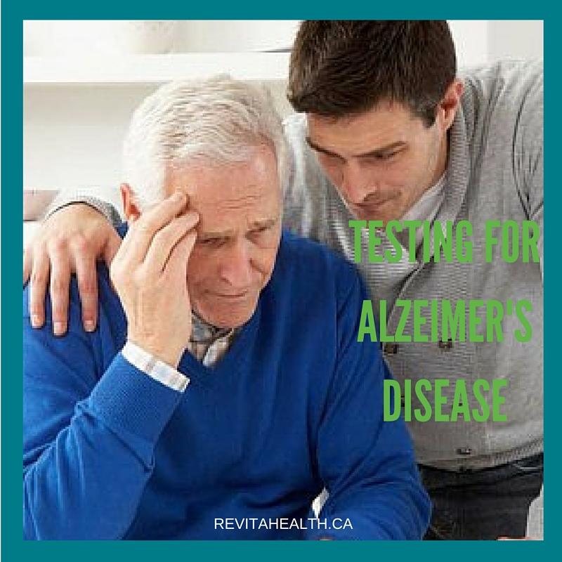 Testing for Alzheimer's Disease