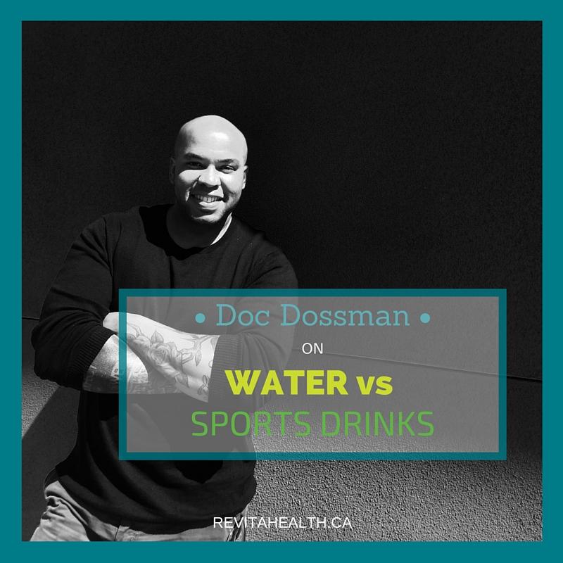 Water vs Sports Drinks