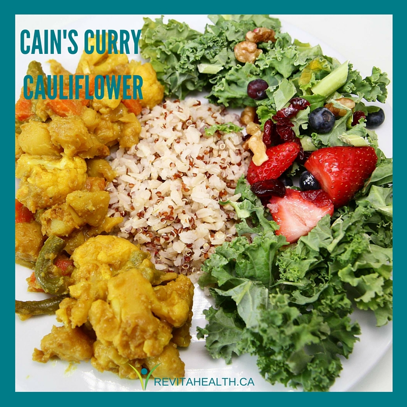 Caine's Curry Cauliflower
