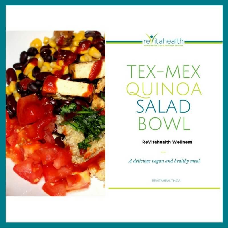 ex-Mex Quinoa Salad Bowl