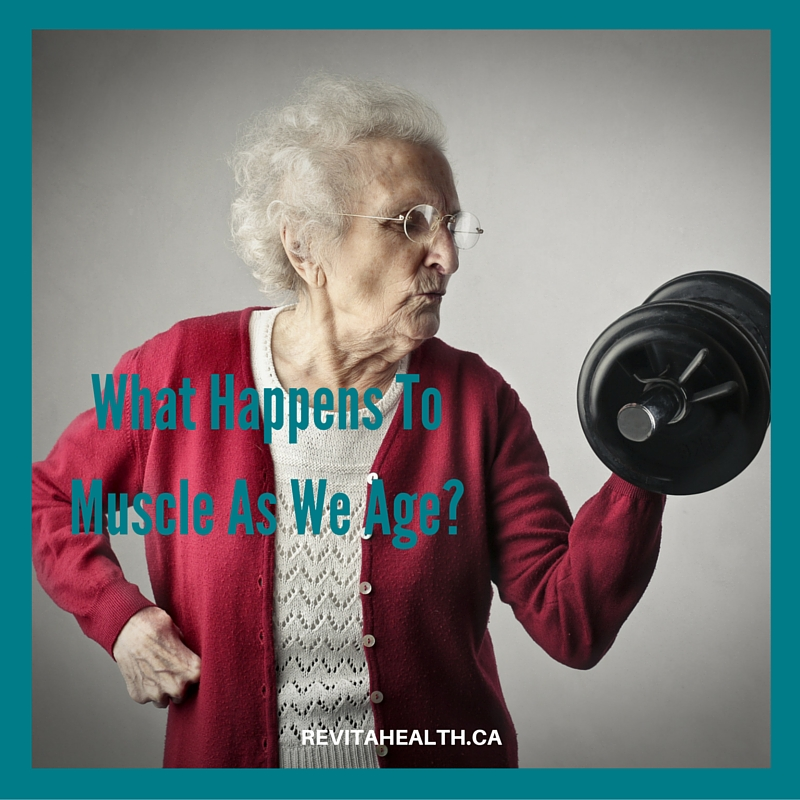 What Happens To Muscle As We Age?