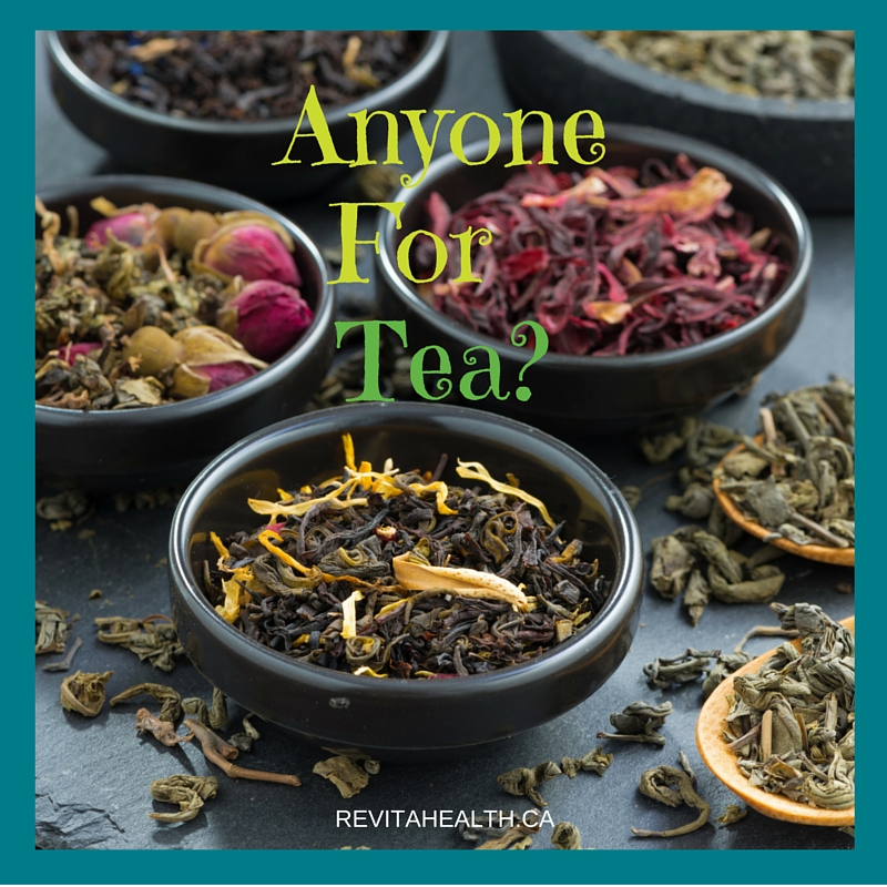 Anyone For Tea? January is National Hot Tea Month